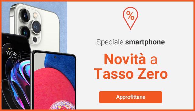Novità smartphone a tasso zero