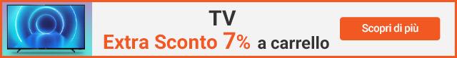 TV - Extra sconto 7%
