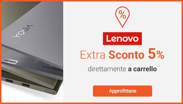 Extra 5% Lenovo