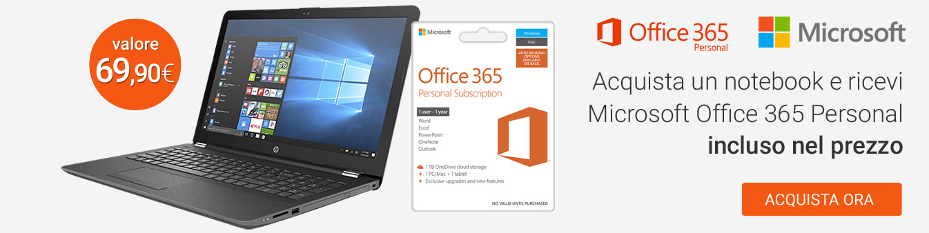 Promozione Office 365 personal