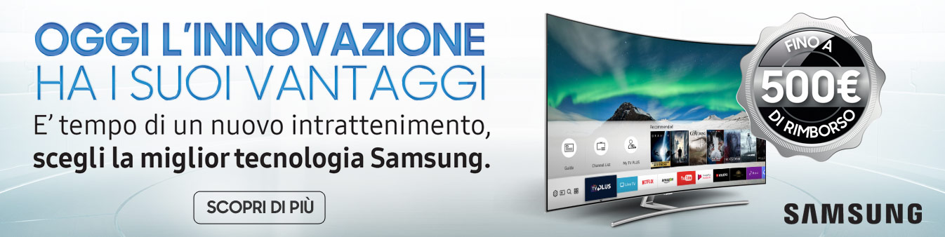 Cashback TV Samsung