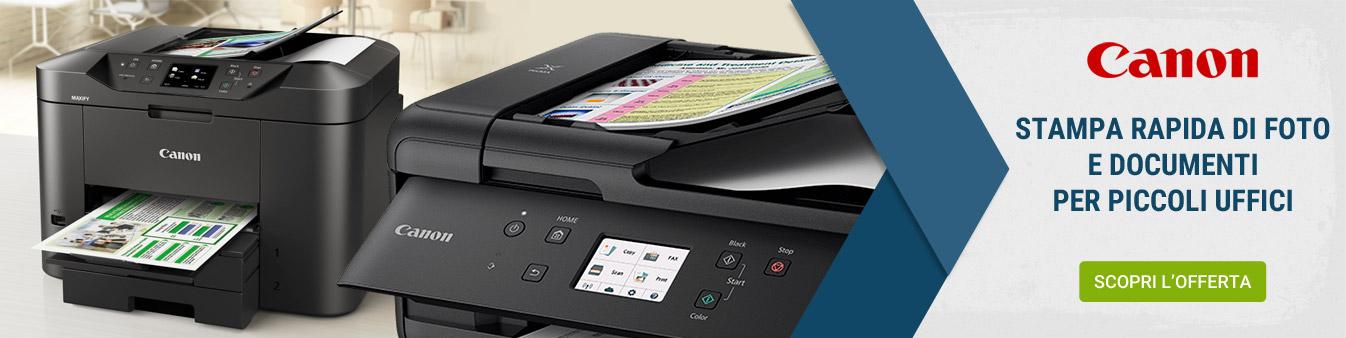 Canon stampanti per ufficio