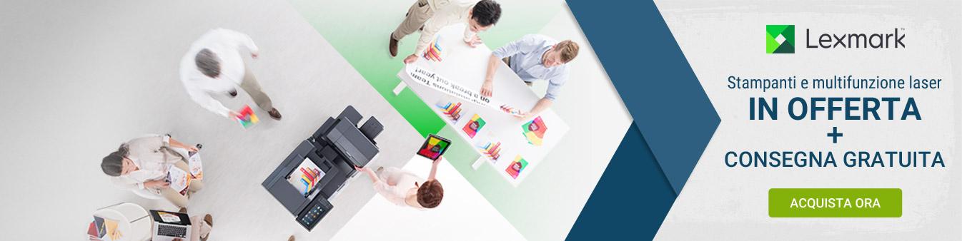Lexmark - Stampanti e multifunzione laser in offerta