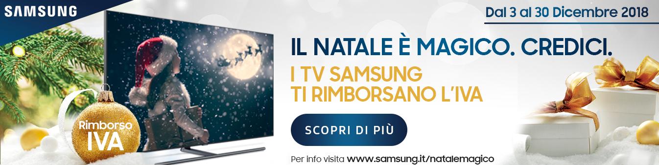 TV Samsung: rimborso IVA