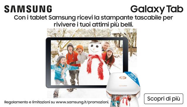 Acquista Samsung e ricevi HP Sprocket