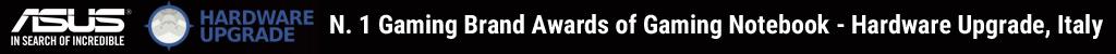 ROG - N.1 Gaming Brand Awards of Gaming Notebook