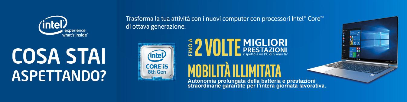 Soluzioni Intel® Core Ottava Generazione