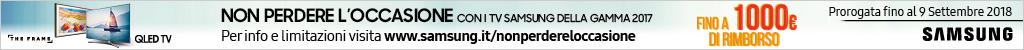 Samsung - Non perdere l'occasione