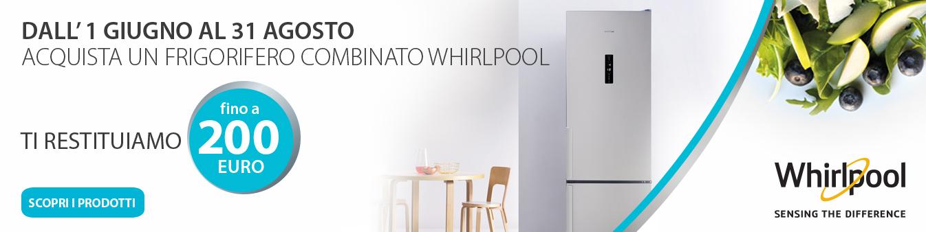 Whirlpool: rimborso fino a 200 euro
