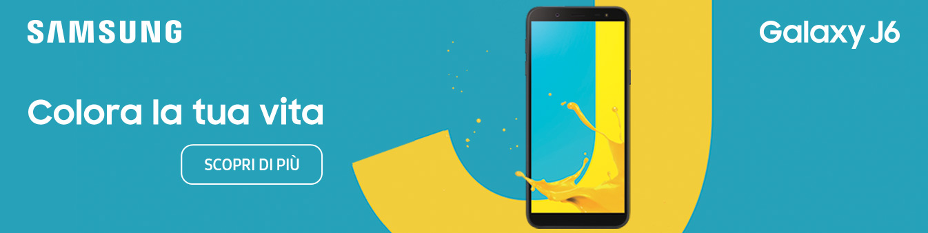 Samsung J6 - Colora la tua vita
