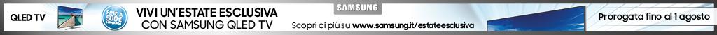 Vivi un'estate esclusiva con Samsung QLED TV