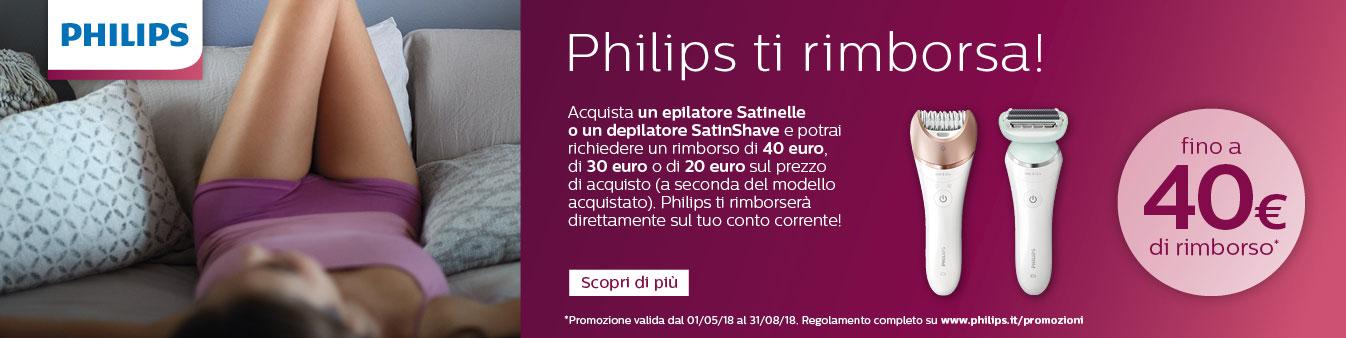Philips ti rimborsa!