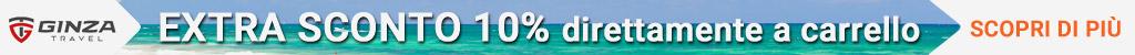 Extra sconto 10% valigie Ginza