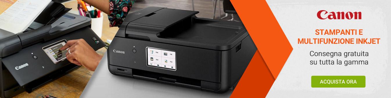 Stampanti e multifunzione Canon - Consegna gratuita