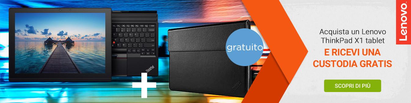Acquista Lenovo ThinkPad X1 e ricevi una custodia