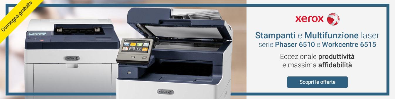 Xerox: stampanti e multifunzione in offerta