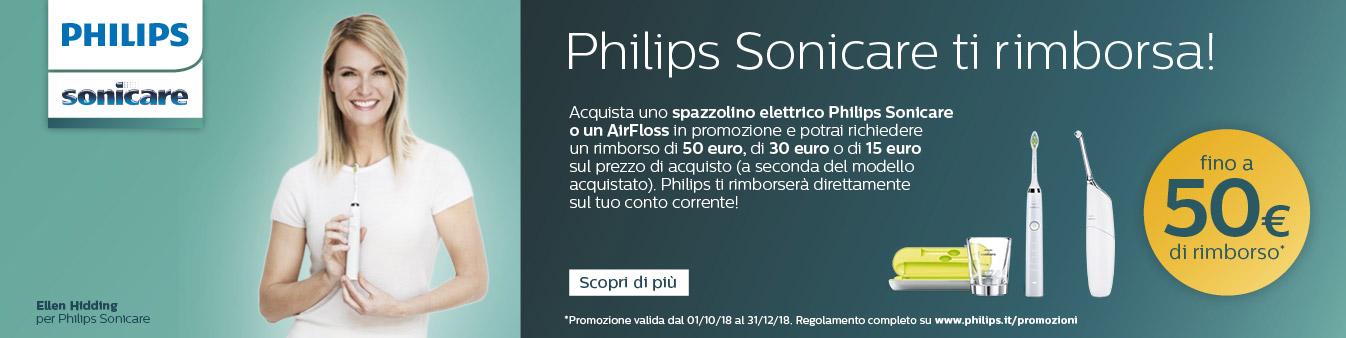 Philips Sonicare ti rimborsa