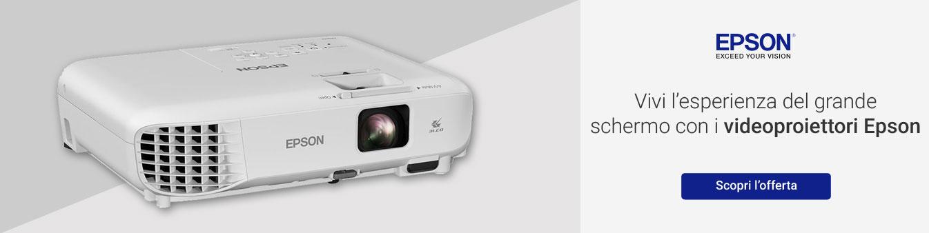 Epson: videoproiettori da cinema
