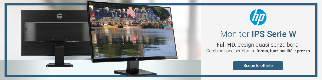 Monitor IPS HP Serie W