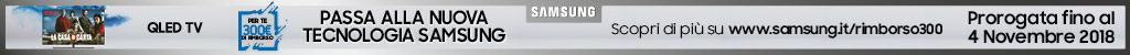 Passa alla nuova tecnologia Samsung (QLED)