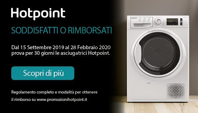 Hotpoint: soddisfatti o rimborsati