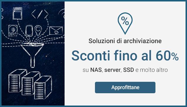 Archiviazione digitale: -60%