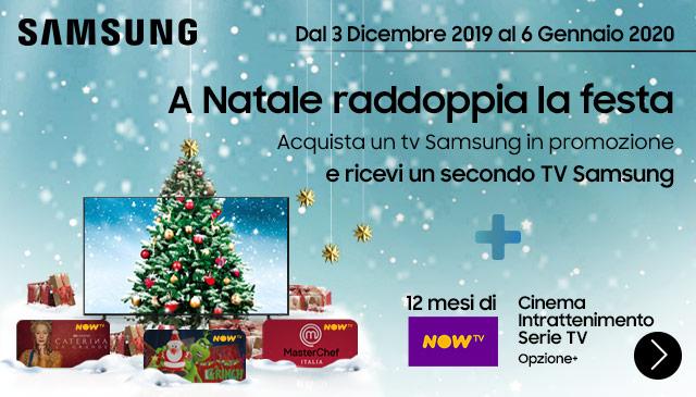 TV Samsung in regalo