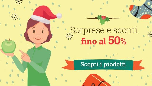 Offerte di Natale -50%