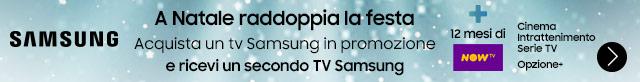 Samsung Natale raddoppia