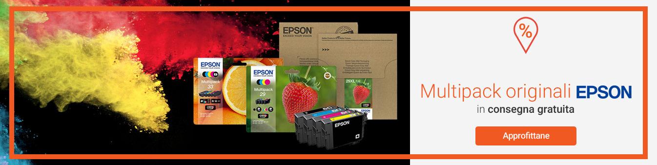Multipack Epson in consegna gratuita