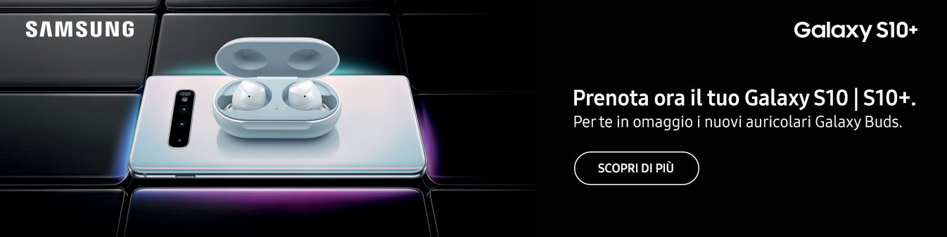 Prenota ora Samsung Galaxy S10