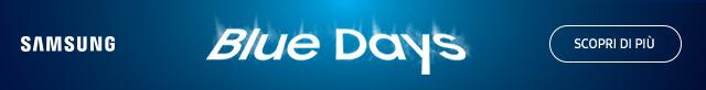 Samsung Blue Days 2019: fino a 200¤ di rimborso!