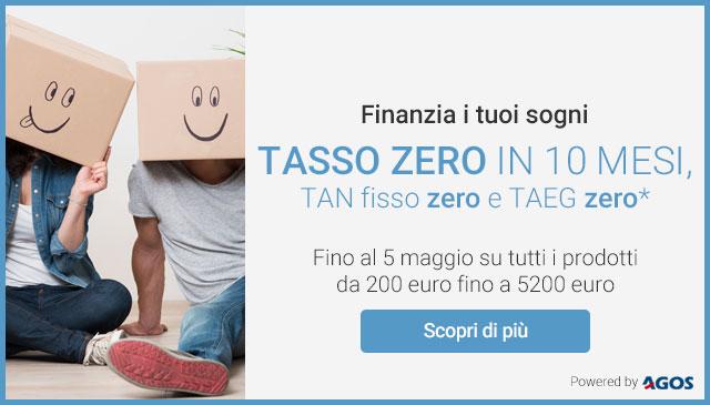 Finanzia i tuoi sogni a Tasso Zero