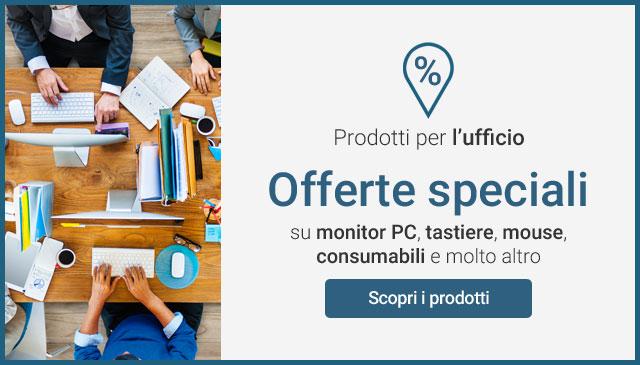 Offerte speciali sui prodotti per l'ufficio