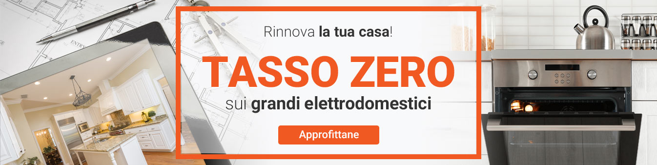 Elettrodomestici a Tasso Zero