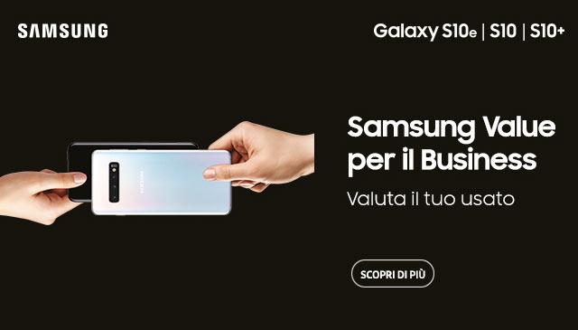 Samsung supervaluta l'usato