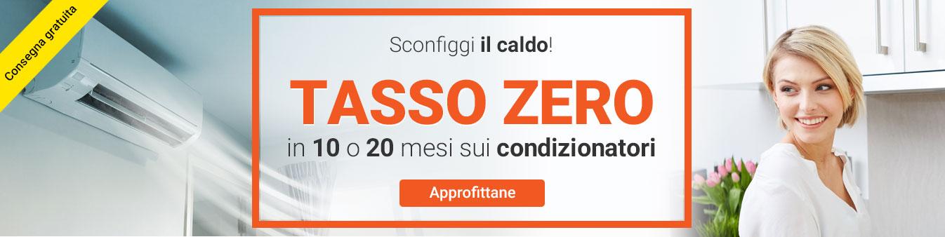 Tasso Zero sui condizionatori
