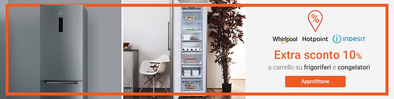 Extra sconto 10% su frigo e congelatori