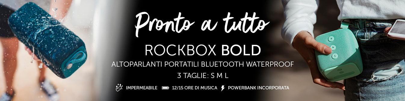 Altoparlanti Rockbox Bold