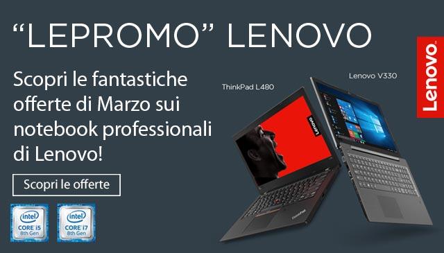 Notebook Lenovo: offerte di marzo