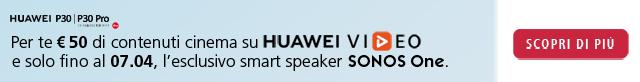 Acquista Huawei P30|P30 Pro e ricevi un regalo
