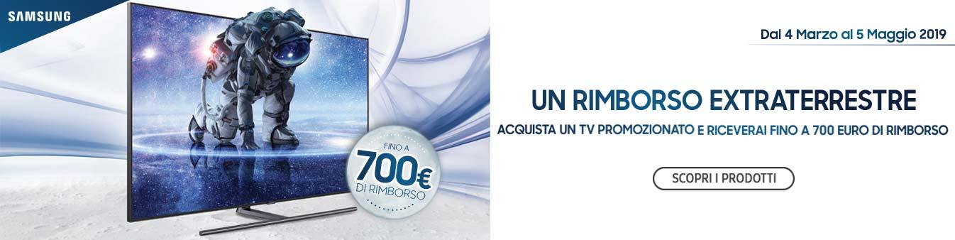 TV Samsung: rimborso di 700¤