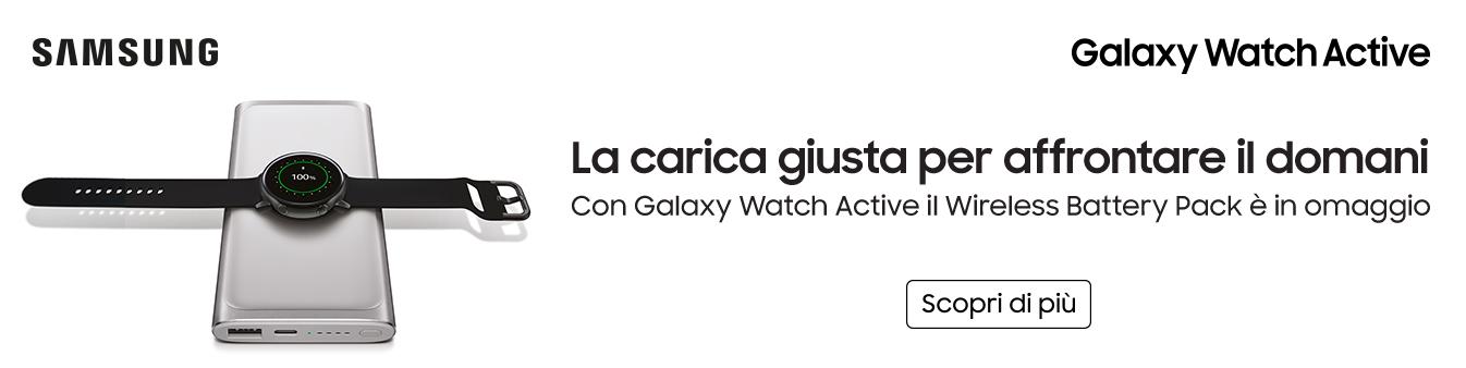 Scopri Samsung Galaxy Watch Active
