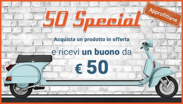 50 Special: buono da ¤ 50 per te