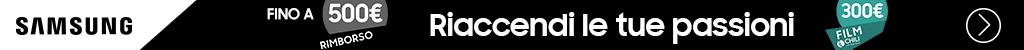 Samsung TV: riaccendi le tue passioni