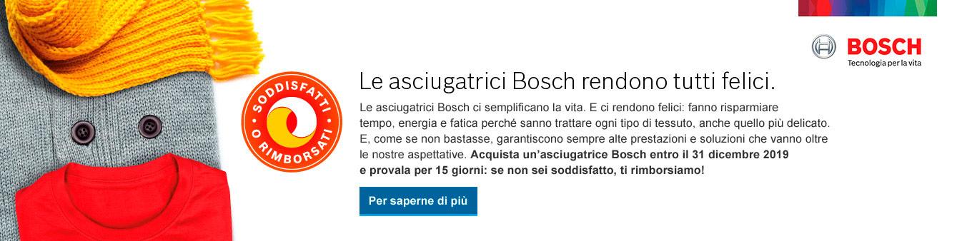 Asciugatrici Bosch