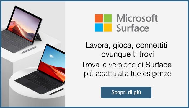 Microsoft Surface in offerta