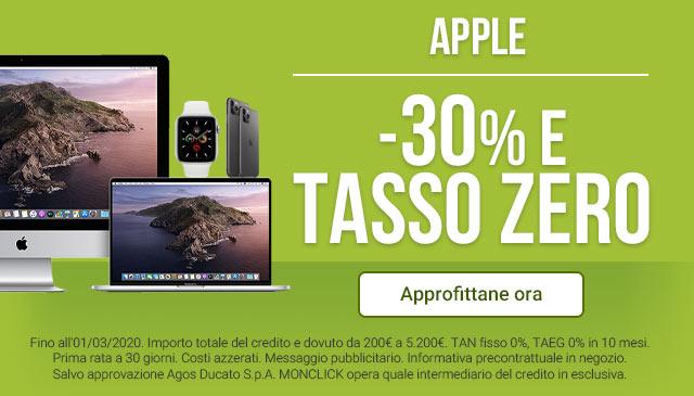 Apple a Tasso Zero