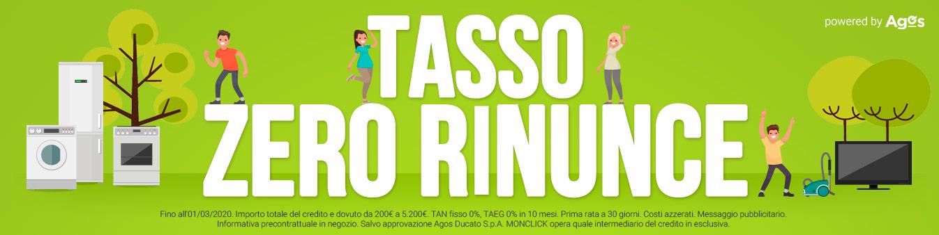 Tasso Zero Rinunce
