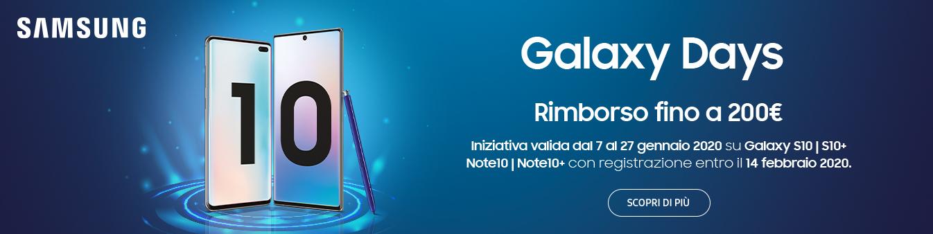 Samsung S10 e Note10 | Cashback